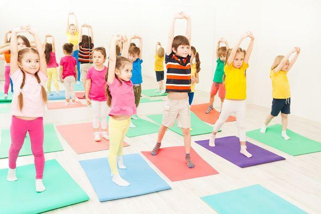 Набор детей в секцию гимнастики