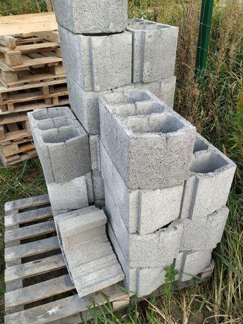 Pustak teriva, kształtka wieńcowa, L-kształtka, Bloczek betonowy