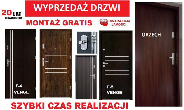 Drzwi ZEWNĘTRZNE-wejściowe do mieszkania z montażem-wewnątrzklatkowee
