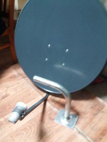 Antena satelitarna 80cm.+konwerter + uchwyt