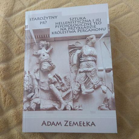 Adam Zemełka książka z dedykacją starożytny PR