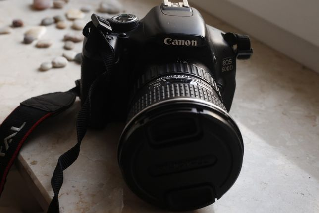 Canon eos 600d + tokina 11-16mm