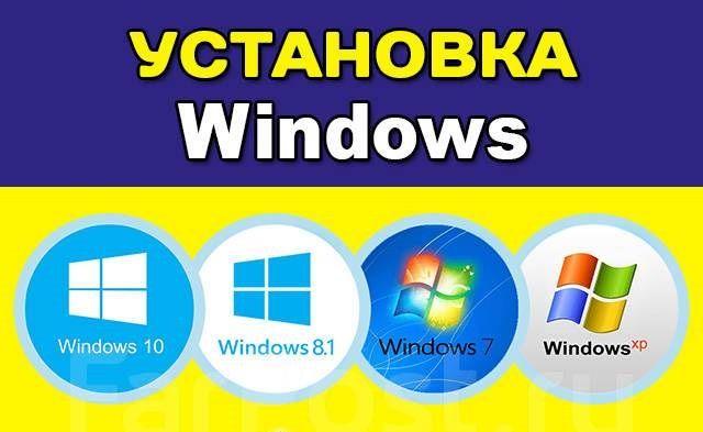 Установка Windows Виндовс