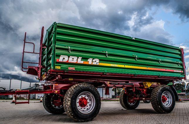 Przyczepa rolnicza wywrotka METAL-TECH DBL 8 10 12 Ton LONG |Wielton