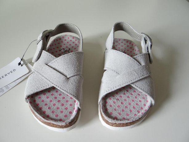 Nowe SKÓRZANE sandałki Rozmiary