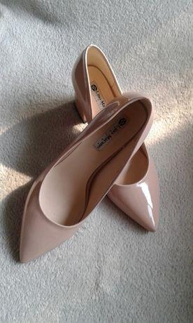 Бежевые туфли мюли от Lino Marano 37.5 - 38 размер (туфлі мюлі)