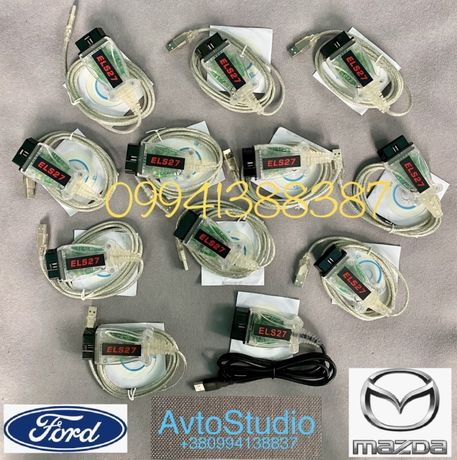 Сканер ELS27 PIC24HJ128GP,USB FORScan,ElmConfig,OBD2 для  Ford  ELM327