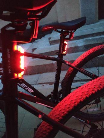 Велостоп, велогабарит, велофонарь задний, свет, мигалка, стоп, вело
