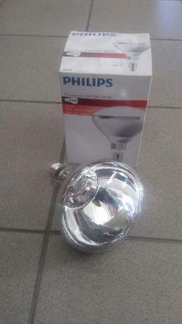 Żarówka promiennik żarzeniowa biała philips 250w