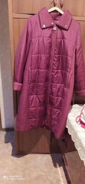 Продам новое женск пальто демисез.58 р-р,4000 руб