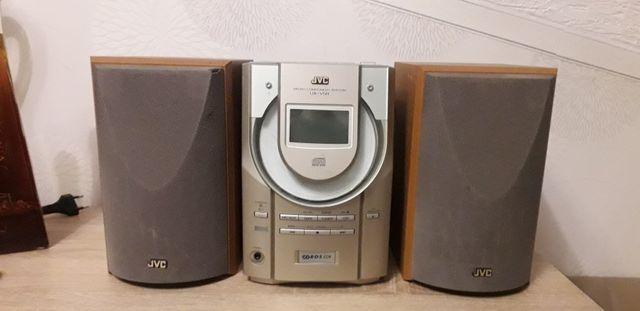 Japońska  WIEŻA JVC aux,tuner,cd