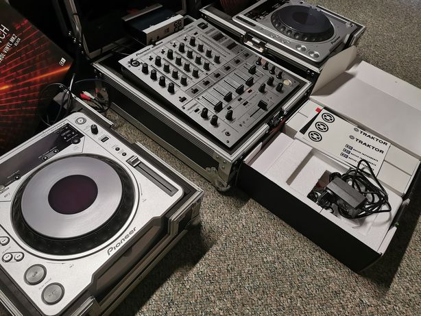 Konsola Pioneer DJM600S + 2X CDJ800MK2 + TRAKTOR pro + gratisy.