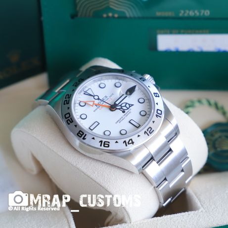 Rolex Explorer ll Branco (Modelo de 2021) Ref 226570