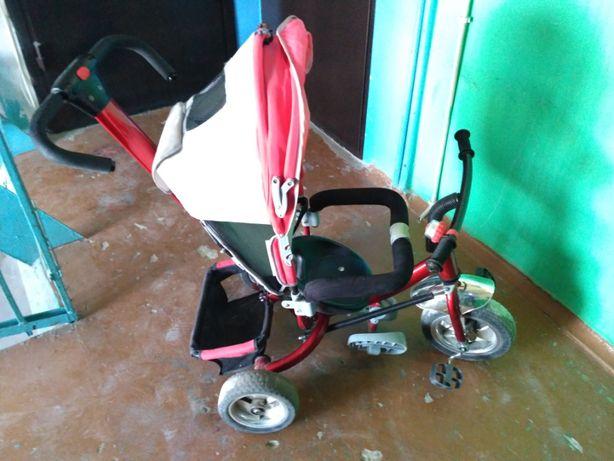 Продам детский трехколесный велосипед Azimut
