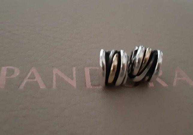 Conta original Pandora prata e ouro (descontinuadas)