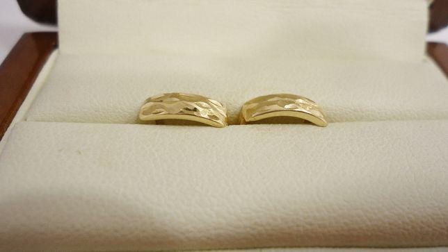 Złote kolczyki 585 dziecięce