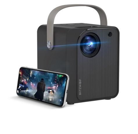 Projetor Blitzwolf BW-VP7 5000 Lumens 1080p WiFi projector 180''
