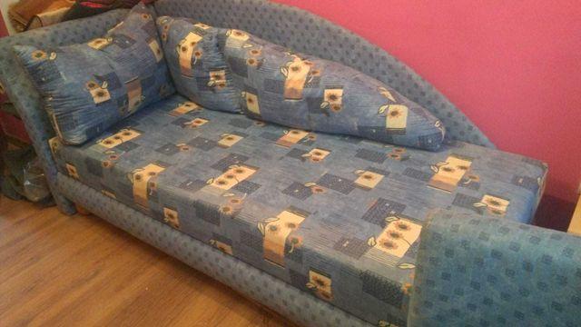 Komplet mebli młodzieżowych sofa i fotel