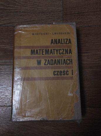 Analiza matematyczna w zadaniach-część pierwsza-Krysicki, Włodarski