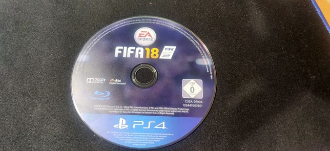 Футбол FIFA 18 PS4