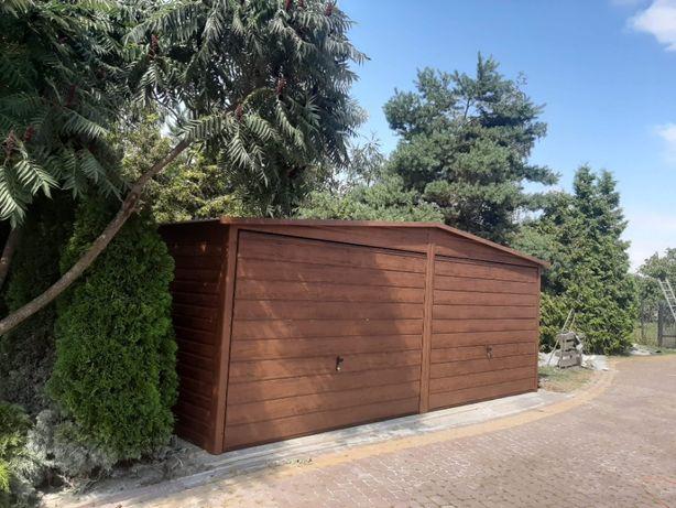 blaszak garaż na budowę schowek garaż blaszany konstrukcja stalowa 2x3