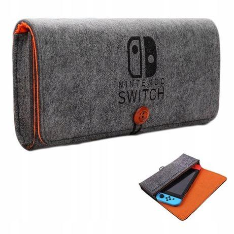 Etui Solid Materiał Futerał Loft Nintendo Switch