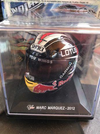 Capacete Marc Marquez 2012 - Coleção MotoGP
