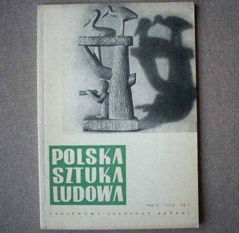 Polska Sztuka Ludowa, 1956 nr 1, dwumiesięcznik.