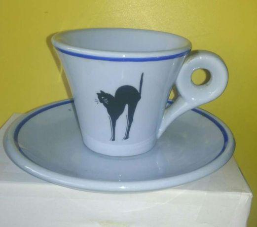 Chávena de café Gato Preto - Vista Alegre
