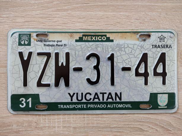 Tablica rejestracyjna Mexico Meksyk Yucatan tablica USA