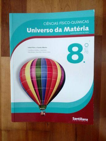 Manual de Fisico Quimica - Universo da Matéria 8 ano Novo