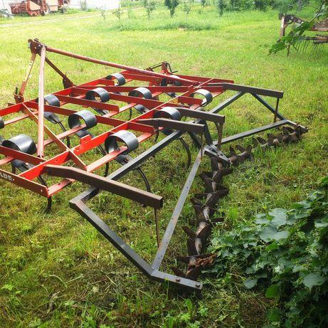 Kultywator pościerniskowy Kongskilde  3,3m z wałem kolczatkowym