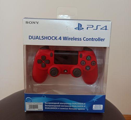 New DualShock 4 V2 Red Оригинал Ps4
