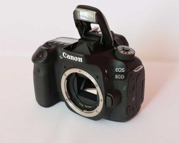 Canon EOS 80D jak nowy, przebieg tylko 3.500, fabryczny komplet. Warto