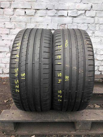 Літні шини 225/45 R17  Good Year Eagle F1  2ШТ 7.5mm Germany
