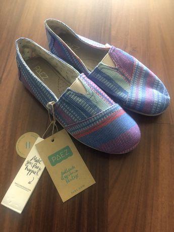 Sapatos sandalias PAEZ para criança - NOVO com etiqueta