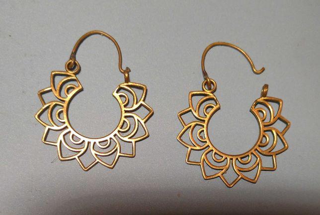 сережки  фірми Daya латунь Bombay Beauty Earrings