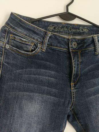 Spodnie 36 M modne rurki wyprzedaż z szafy jak nowe
