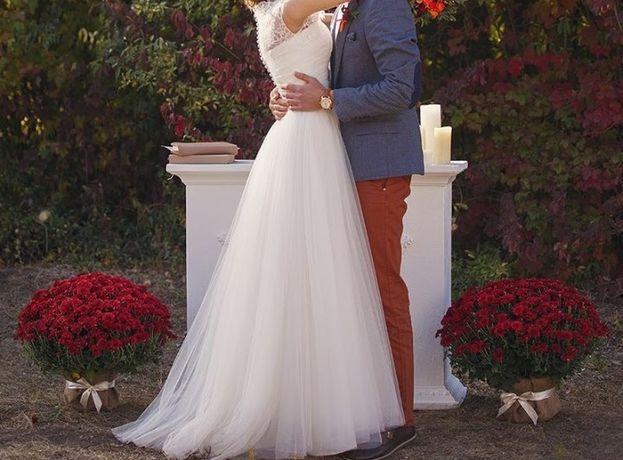 Найніжніша весільна сукня.