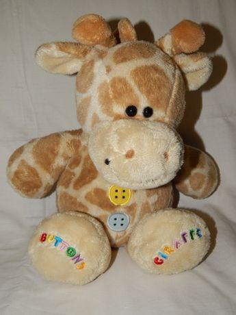 Мягкая игрушка жираф торговой марки Buttons.