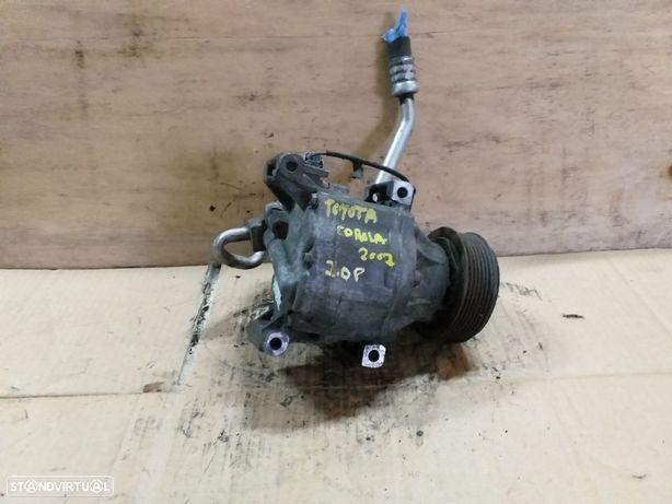 Compressor ar condicionado Toyota Corola 2.0 Gasolina