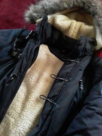Куртка зимняя на подростков