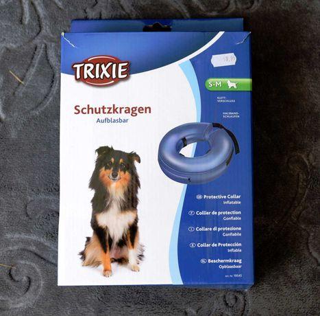 Kołnierz pooperacyjny dla małego psa.Typ oponka. Trixie
