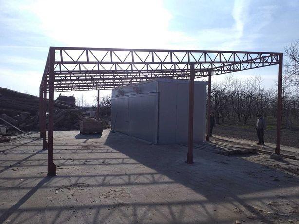 Konstrukcje Stalowe 6x6 m - Wiata Hala Garaż Magazyn - Nowa i Solidna