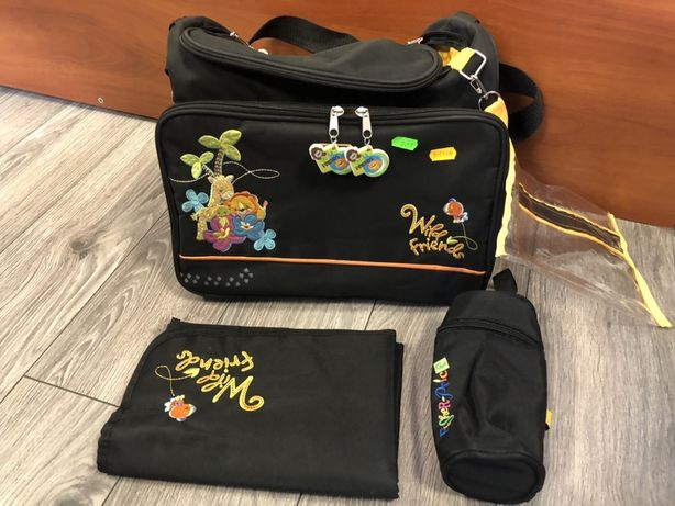 Fisher-Price torba z przewijakiem czarna