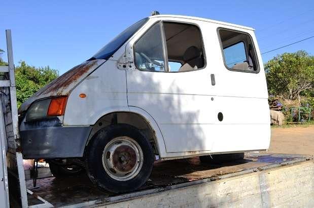 ford transit bico de pato, muitas peças disponíveis