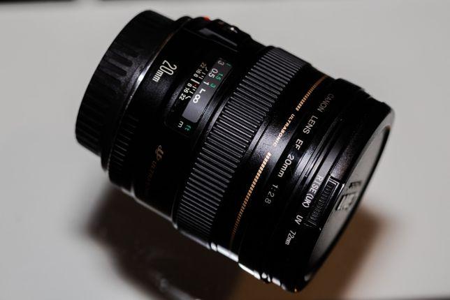 Obiektyw canon 20mm