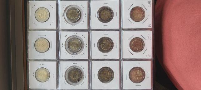Vendo Moedas UNC & circulada 2€ comemorativas (PORTUGAL)