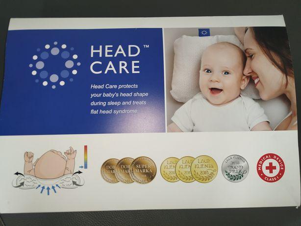 Poduszka HEAD CARE L plagiocefalia + dodatkowa poszewka