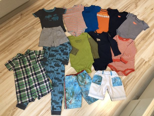 Бодики, костюмы для мальчиков Carter's